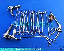 Colposcopy Instrument Tray Set - 20 pieces