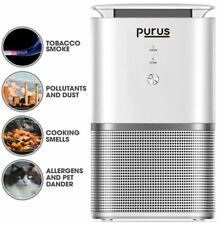 PURUS PRO HEPA AIR PURIFIER IONISER AIR CLEANER REMOVES 99% ALLERGENS POLLEN