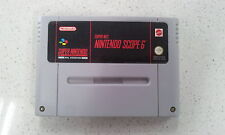 Super Nintendo SCOPE 6 SNES PAL Version Game only