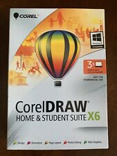 COREL DRAW HOME & STUDENT SUITE X6
