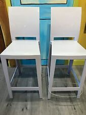 Kartell One More One More Please--2 stools (out of box)
