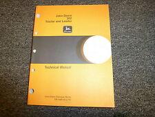 John Deere 302 Tractor & Loader Shop Service Repair Technical Manual Tm1089