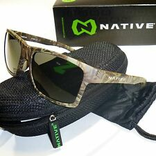 Native Flatirons Polarized Sunglasses-Realtree Camo Max1 Frame/N3 Gray Lenses