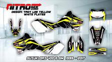 SUZUKI Graphics Kit Decal Design Stickers DRZ 400 E SM Motocross MX Enduro 99-17