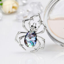 CG_ FT- BG_ JT_ Women Fashion Rhinestone Spider Brooch Pin Suit Dress Decor Jewe