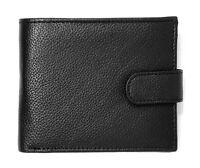 Men's Leather RFID Blocking Wallet Slim Bifold Style Zip Coin Pocket Purse BB37