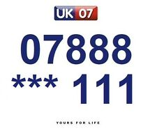 07888 *** 111  - Gold Easy Memorable Business Platinum VIP UK Mobile Numbers
