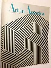 "Vintage ""Art in America"" Magazine, November-December, 1966"