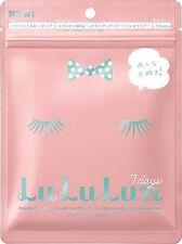 LuLuLun Lu Lu Lun Version 4 Moisture Face Mask 7 sheets/80ml JAPAN - Super Hit