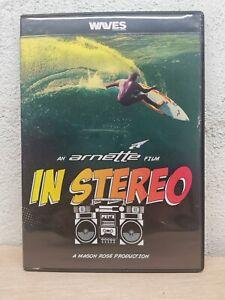 "Surf Surfing DVD "" IN STEREO "" an Arnette Film Waves"