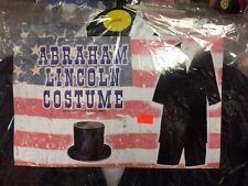 Children Civil War President Abe Abraham Lincoln Costume Jacket Pants Large