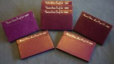 Lot of 1984-1990 United States Mint Proof Sets  - Free Shipping USA