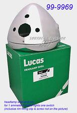 99-9969 headlamp shell & rim for 1 Ammeter 2 warning lights 1 switch Triumph BSA