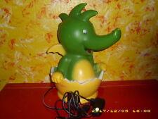 Tabaluga - Lampe - Leuchte - Kinderlampe - Tischlampe - hoch 38 cm