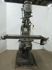 Bridgeport Vertical Milling Machine Ctam 8009