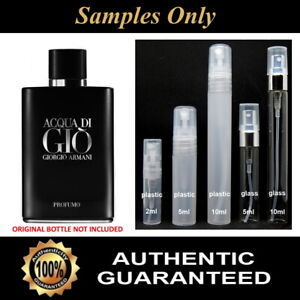 Acqua Di Gio Profumo by Giorgio Armani - 2ml / 5ml / 10ml Sample - 100% Genuine