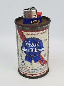 Pabst Blue Ribbon Beer vintage mini can Cigarette lighter holder table top PBR
