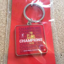 *NEW* LIVERPOOL FC - OFFICIAL 2019/20 PREMIER LEAGUE CHAMPIONS KEYRING