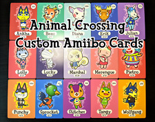 Animal Crossing NFC Amiibo Cards [Series 1, 2, 3, 4] Popular Villagers & Custom