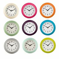 Wall Clock Simple & Sleek Round Design Home Kitchen Living Room Office - QUARTZ