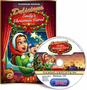 ⭐️ Delicious 14 - Emily's Christmas Carol - Platinum Edition - PC / Windows ⭐️