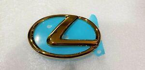 FITS New Lexus GS350 GSF IS250 IS350 IS200T Emblem Rear Trunk 24K Gold 2013 13