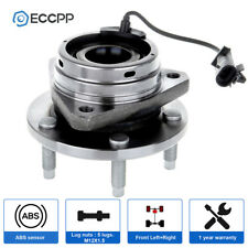 New Front Wheel Hub Bearing Assembly  Fits Chevy Cobalt G6 Malibu ABS 5 Lugs