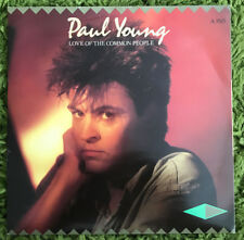 """Paul Young - Love Of The Common People - 7"""" single"""