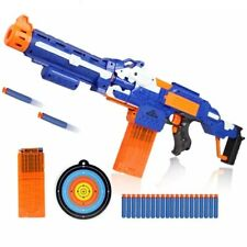 NERF Toy Gun Plastic Electric Soft Bullet For Outdoor Shooting