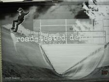 VOLCOM skateboard GEOFF ROWLEY CHRIS PFANNER double sided ~BIG~ BANNER ~NEW~!!