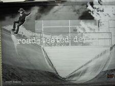 Volcom skateboard Geoff Rowley Chris Pfanner 2 sided Huge Banner New Old Stock