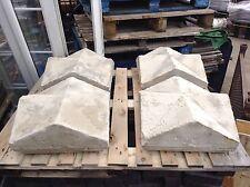 Reclaimed Sandstone Pillar Tops