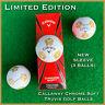 Callaway Chrome Soft TRUVIS Golf Balls  GOLD #ParadiseStrong - NEW 3-Ball Sleeve
