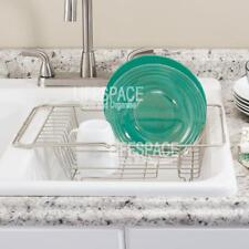 Interdesign Classico Over Sink Drainer Dish Rack NEW
