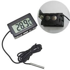 LCD Digital Temperature Humidity Thermometer Outdoor Hygrometer Meter w/Pro