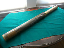 1850's Signed Spencer Browning Large Maritime Spyglass