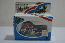 Vintage Zylmex - Ridge Riders Yamaha Seca 550 bike - 1:24 -  Diecast Metal MIB