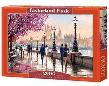 (CSC200566) - Castorland Jigsaw 2000 pc - Along the River