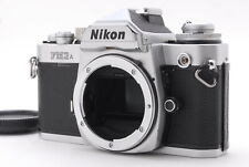 【Exc+5】Nikon FM3A SLR Film Camera Black Body Only From Japan #1062