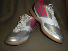 Womens F-50 Adidas Pink Silver White Soccer Sneakers