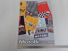 Brochure depliant originale Motobi 250 café racer 50 125 250 2c etc