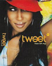 Tweet Oops (Oh My) feat. Missy Elliott CASSETTE SINGLE Hip Hop RnB/Swing