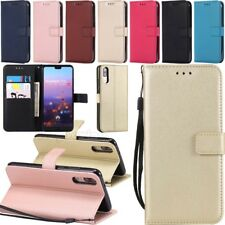 For Huawei P20 Lite Pro /Honor 8 10 Leather Wallet Card Holder Flip Case Cover