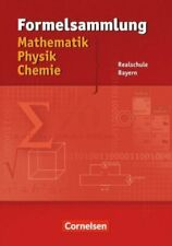 Formelsammlung mathematik physik chemie