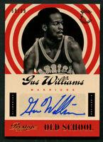 Gus Williams #30 signed autograph auto 2013-14 Panini Prestige Old School 68/99