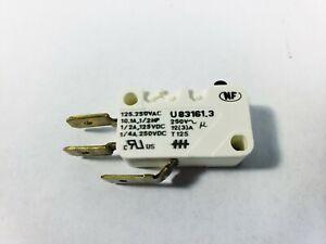 Crouzet UA83161.3 Micro Limit Switch 10.1A 125/250VAC 1/2A 125VDC 1/4A 250VDC