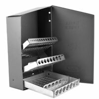 Huot Metal Index Organizer Case for Drill Bits - Holds 29 Bits 1/16 to 1/2-inch,