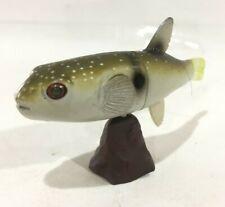 Japan Furuta Kaiyodo Grass Puffer Fish Miniature Animal Mini Realistic Figure