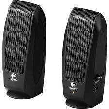 New Logitech S120 S-120 2.0 Multimedia Stereo Speaker System Speakers 980-000012
