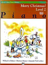 MERRY CHRISTMAS LEVEL 2, PIANO, Alfreds Basic Piano Library